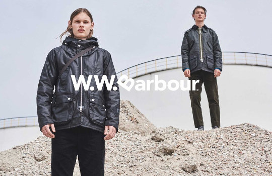 Barbour X Wood Wood