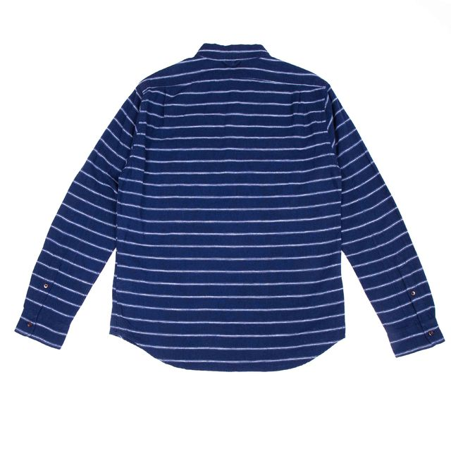 Ticking Stripe Cape Shirt Thumbnail