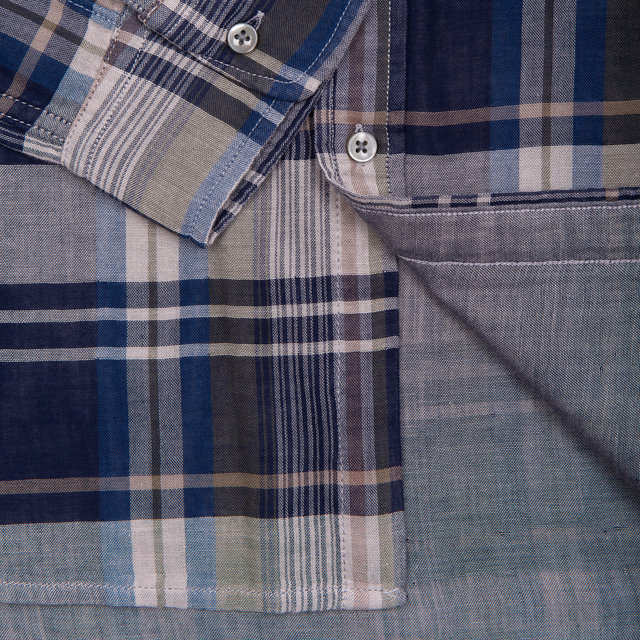 HUDSON PLAID DOUBLE GAUZE SHIRT Thumbnail