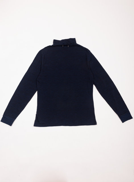 Indigo Turtle Neck