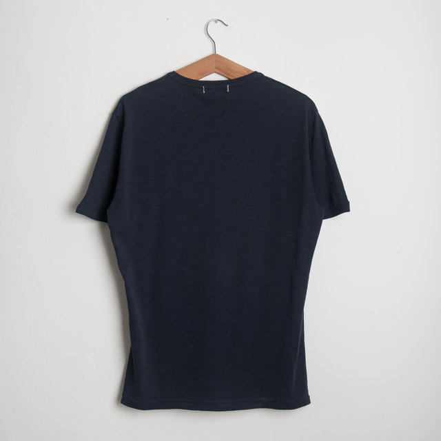 Standard Slub Cotton Tee - Navy Thumbnail