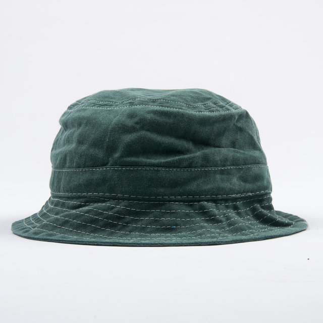 439a8428d Bucket Hat - Green - White contrast