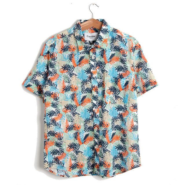 Fern Hawaiian Short Sleeve Shirt Thumbnail