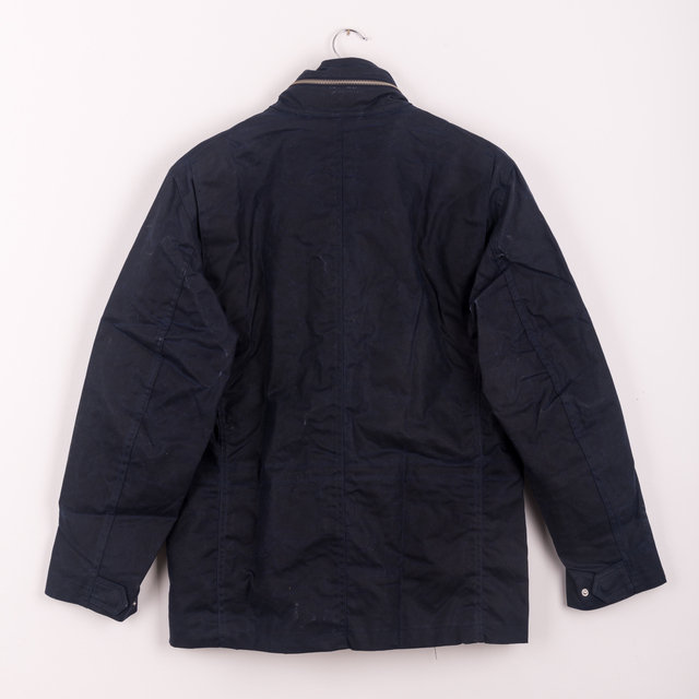 Waxed Cotton M65 Jacket - Navy Thumbnail