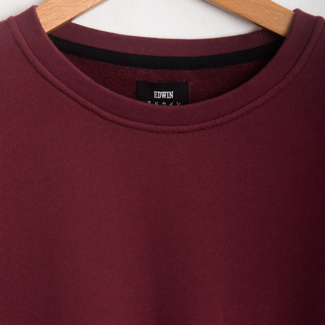 Terry L/S T-Shirt - BLOOD RED Thumbnail