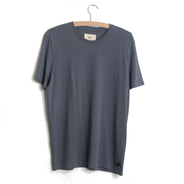 ASSEMBLY TEE - SMOKEY BLUE Thumbnail