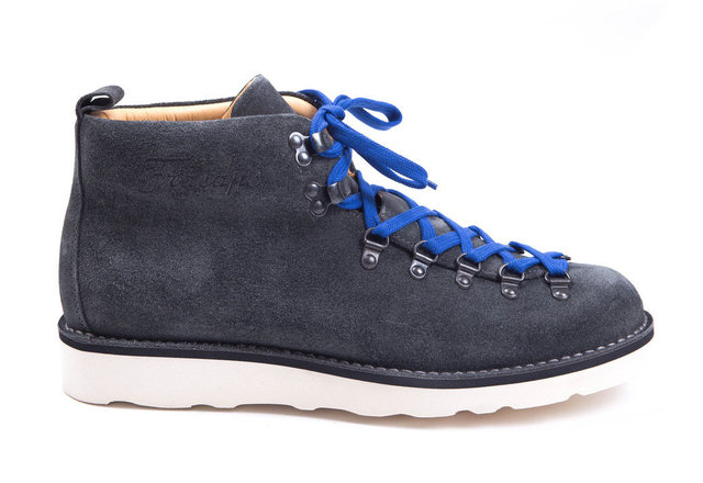 Fracap M120 Scarponcino Boot - Suede Charcoal Thumbnail