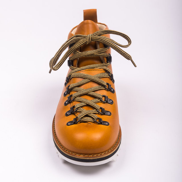 Fracap M120 Scarponcino Ripple White - Yellow Thumbnail