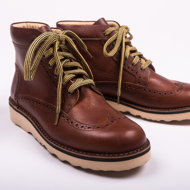 Fracap M131 Scarponcino Albany Natural - Brown Thumbnail