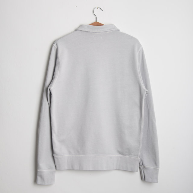 Long Sleeve Zip Polo - Cloud Thumbnail