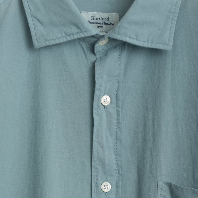 1f72e41308974e Hartford Paul Pat -Pale Green Shirts | Frontiers Man