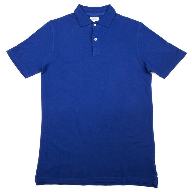 Pique Polo Ss Men Knitted  Thumbnail
