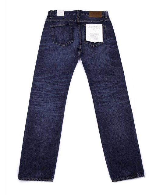 Regular Tapered Organic - Mid Blue