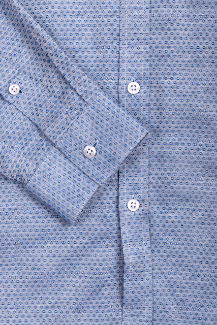 Grit Linen Shirt - Blue