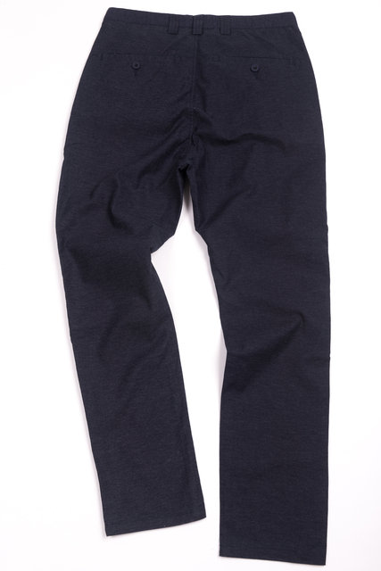 Taper Theo Oxford Pants - Navy Thumbnail