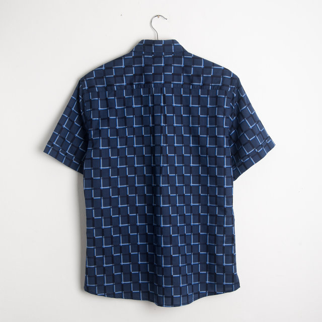 Dillon Shirt - Blue Pattern Thumbnail