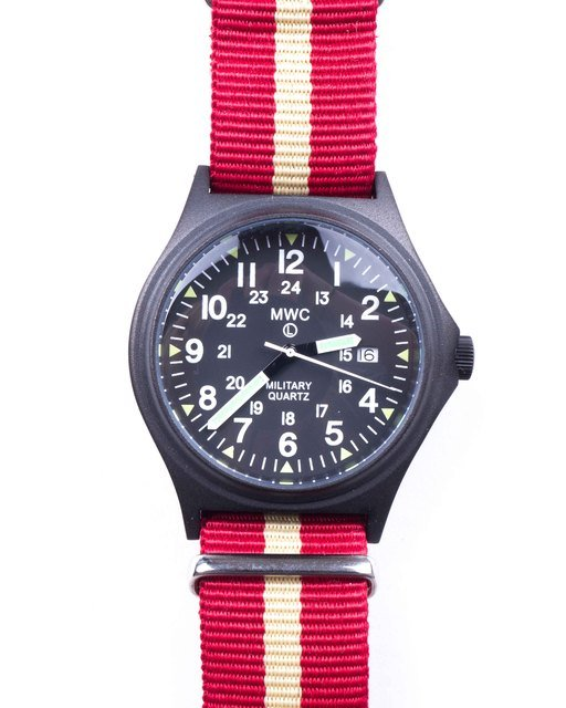 G10BH PVD 12/24 50m Water Resistant Military Watch Thumbnail