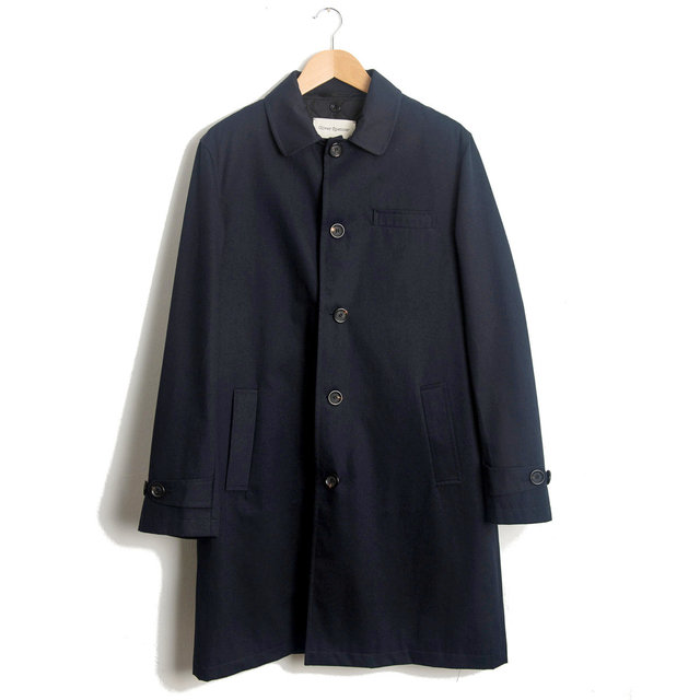 Beaumont Coat - Park Navy Thumbnail