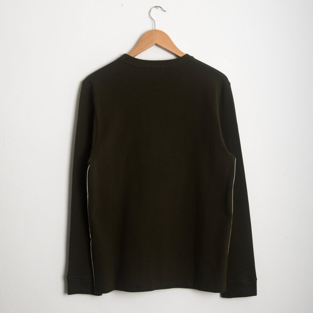 Berwick Long Sleeve Tee - Green Thumbnail