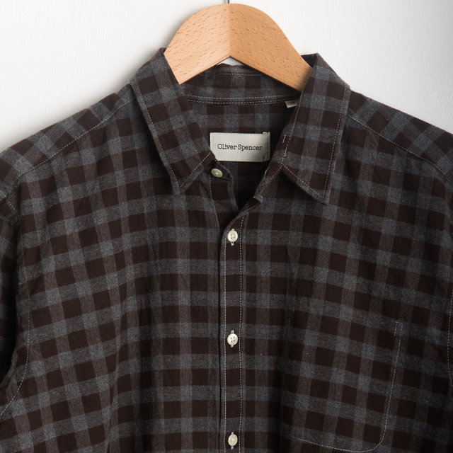 New York Special Shirt - Longmead Brown Thumbnail