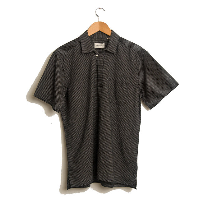 Yarmouth Shirt - Kersley Black Thumbnail