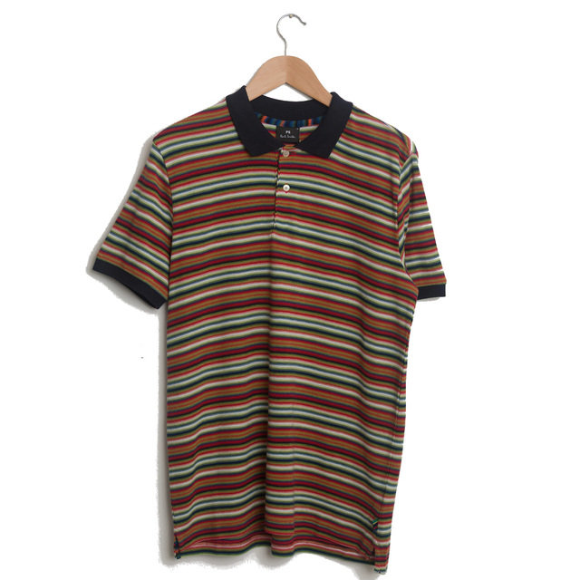 d4b08b786 Paul Smith Striped Polo Shirt - Red Shirts | Frontiers Man
