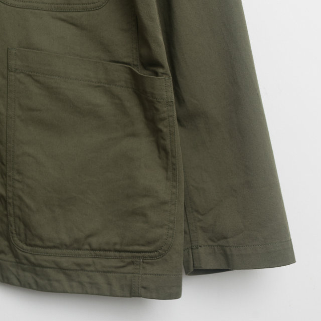 Bakers Jacket - Light Olive Twill