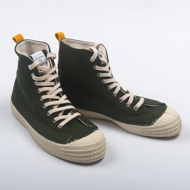 Novesta UW Star Hike - Olive Burrel Wool Thumbnail