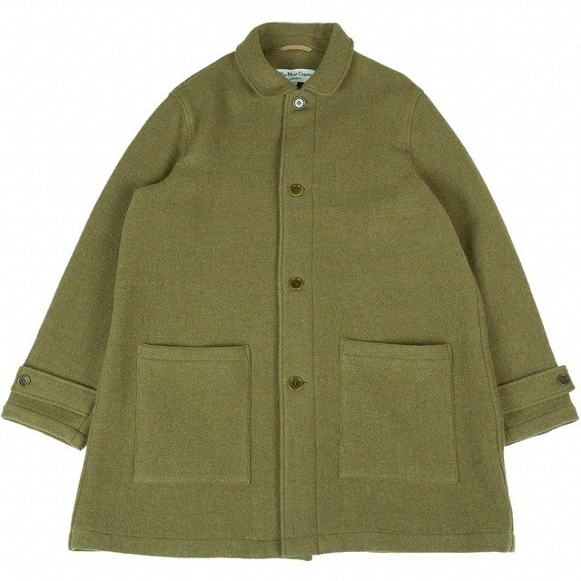 Factory House Coat - Olive Thumbnail