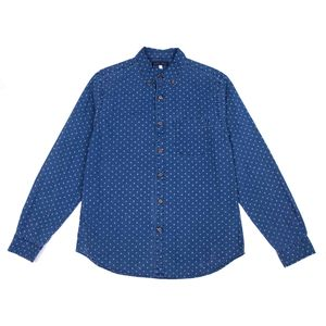 Indigo Mini Floral Shirt