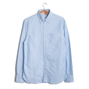 Button Down Vintage - Blue Oxford