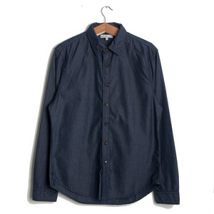 End on End School Shirt - Navy