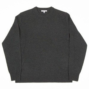Extrafine Merino Crew Sweater - Dark Pine