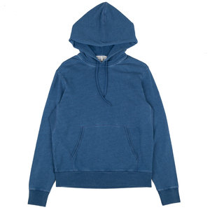 Pull Over Hoodie - Indigo-Dyed