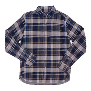 HUDSON PLAID DOUBLE GAUZE SHIRT
