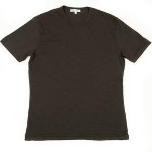 SLUB COTTON T-SHIRT - IRON GREY