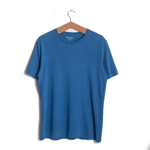Standard Cotton Jersey Tee - Washed Cobalt