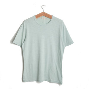 Standard Slub Cotton Tee - Aquamarine