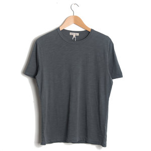 Standard Slub Cotton Tee - Blue Graphite
