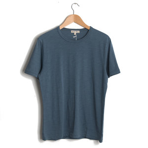 Standard Slub Cotton Tee - Blue Slate