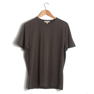 Standard Slub Cotton Tee - Faded Black