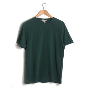 Standard Slub Cotton Tee - Forest