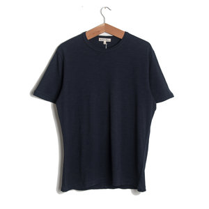 Standard Slub Cotton Tee - Navy
