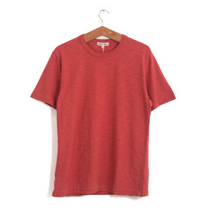 Standard Slub Cotton Tee - Poppy Red