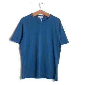 Standard Slub Cotton Tee - Sea Blue
