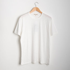Standard Slub Cotton Tee - White