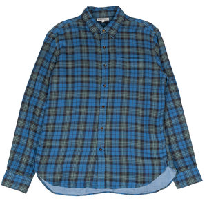 Plaid Double Gauze - Blue/Green