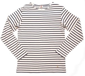 Classic Breton Long Sleeve - Nature/Navy