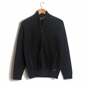 Full Zip Cardigan - Black