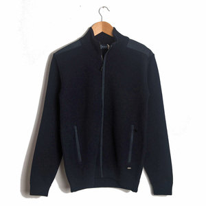 Full Zip Cardigan - Navy